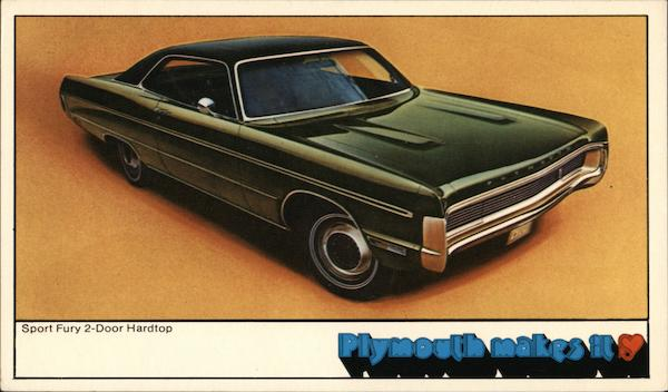 1970 Plymouth Sport Fury Cars