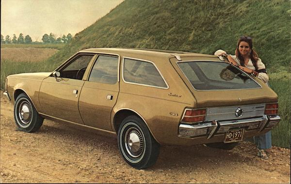 1971 Hornet Sportabout 4-Door Cars