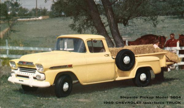 1959 Chevolet Truck Trucks