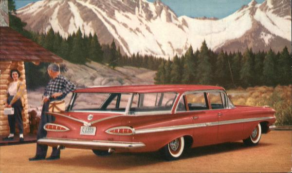 59 Chevrolet Nomad Station Wagon Cars