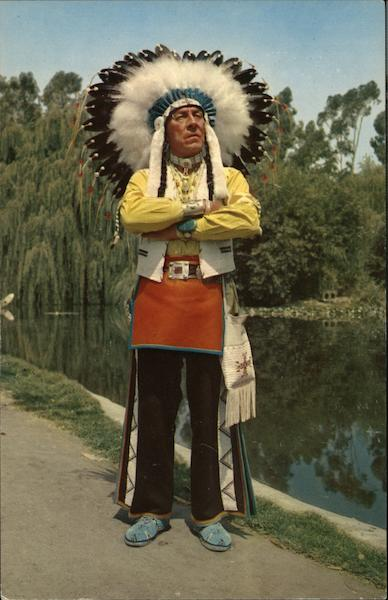 Chief Red Feather Native Americana
