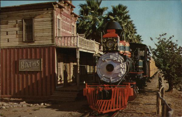 Knott's Berry Farm - Ghost Town Train Buena Park California
