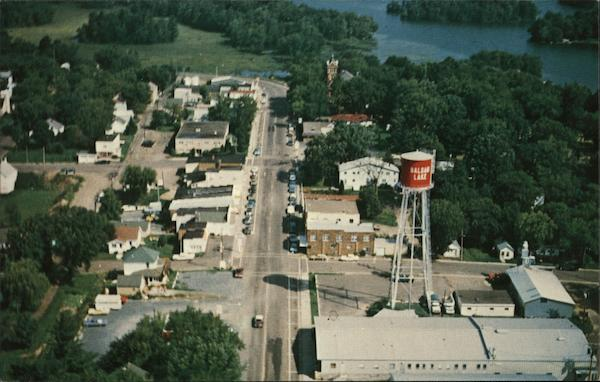 Aerial View of Town Balsam Lake Wisconsin James H. Anderson