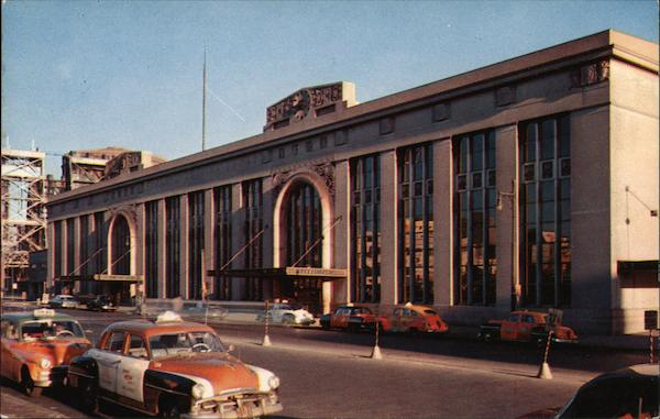Pennsylvania Railroad Station Newark New Jersey