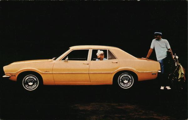 1971 Maverick 4-Door Sedan Cars