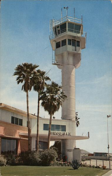 Phoenix Airport Tower Arizona