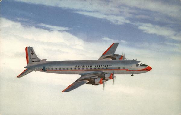 American Airlines DC-7 Aircraft