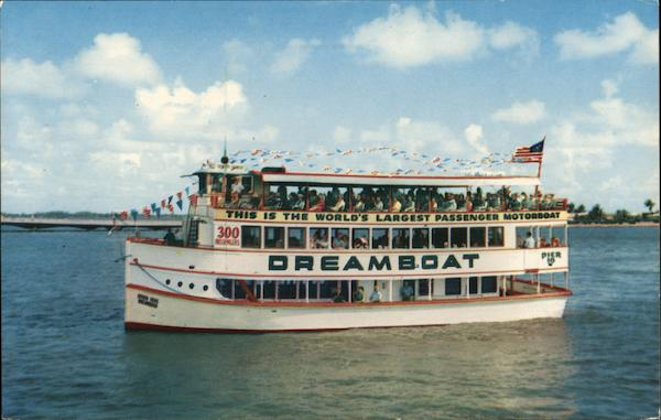 Seven Seas Dreamboat Miami Florida