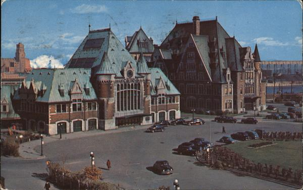Union Station and Main Post Office Quebec Canada