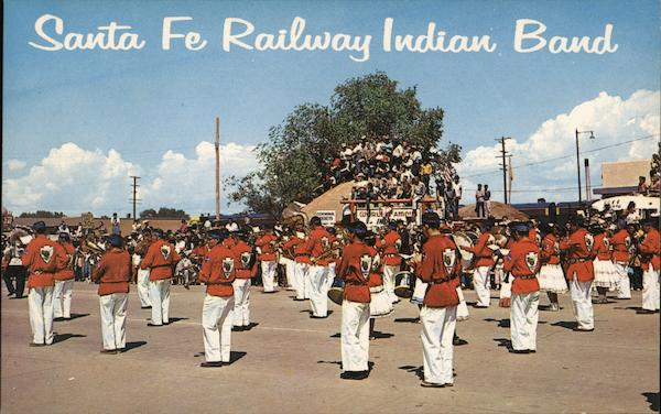 Santa Fe Railway Indian Band Gallup New Mexico
