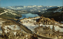 Donner Lake and Highway