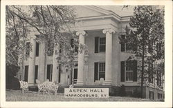 Aspen Hall Guest House Harrodsburg, KY Postcard