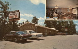 True's Motel Forecourt and Dining Room