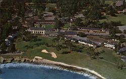 Aerial View of 18th Hole and Lodge