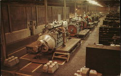 American Locomotive Company - Diesel Engine Assembly