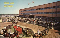 Finger Lakes Race Track Postcard
