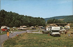 Camping Area at Willow Bay Recreational Area at Kinzua Dam