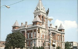 Gibson County Court House Postcard