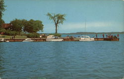Cayuga Lake State Park - Boat Dock and Fishing Pier