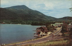 Blue Mountain Lake and Town