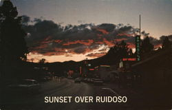 Sunset Over Ruidoso