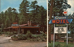Stewart's Motel and Apartments Postcard