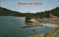 Whiskeytown boat launching ramp.