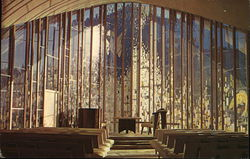 The Interior of the Sanctuary of the United Church of Christ