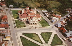 Aerial View of Church of Los Angeles