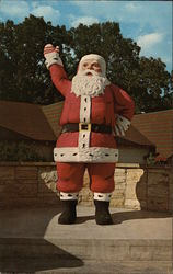 Santa Claus Land Postcard
