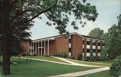 Earlham College - Lilly Library Postcard