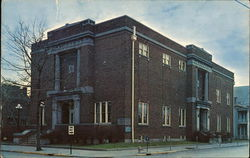 Vincennes Masonic Lodge Postcard