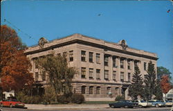 Vermillion County Court House Postcard