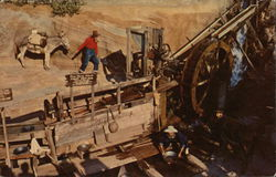 The Gold Mine in Ghost Town, Knott's Berry Farm