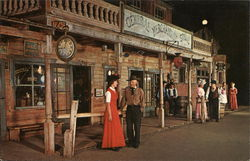 Visiting on Market Street, Knott's Berry Farm & Ghost Town