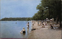Beach Scene, Devil's Lake