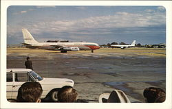 Presidential and Escort Planes at Love Field