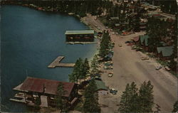 Aerial View of Grand Lake Postcard