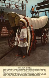 Chief Billy Osceola Postcard