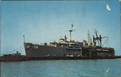 Submarine Tender USS Howard W. Gilmore, US Naval Base