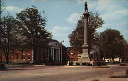 G.A.R. Civil War Monument