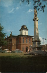 Macon County Courthouse and Confederate Monument
