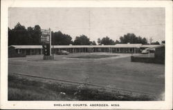 Shelaine Courts Postcard