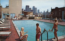 Rooftop Swimming Pool at the Holiday Inn