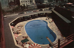 Aerial View of Pool, Riverside Hotel