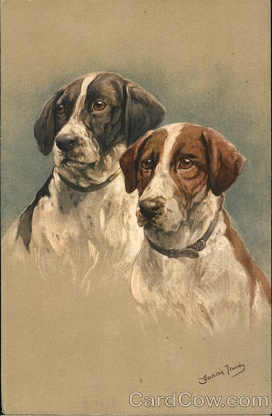 Two Beautiful Dogs Fannie Moody
