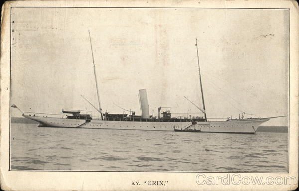 S.Y. ERIN. - The Ship Erin at Sea Military