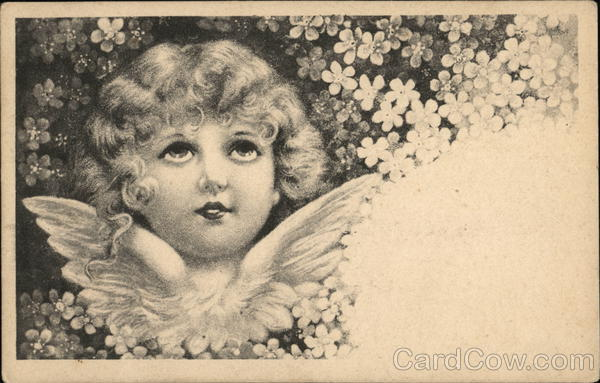 Picture of a Little Girl Angel Girls