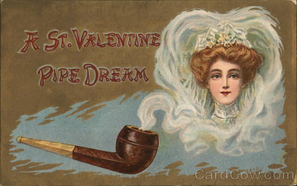 Image of a Bride out of Pipe Smoke Women