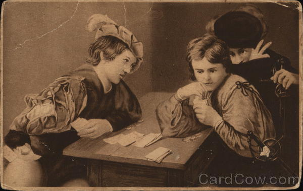 People Playing Cards Card Games